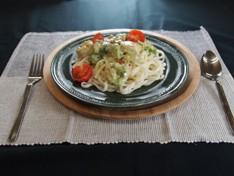 海老&アボガド パスタ風和え麺